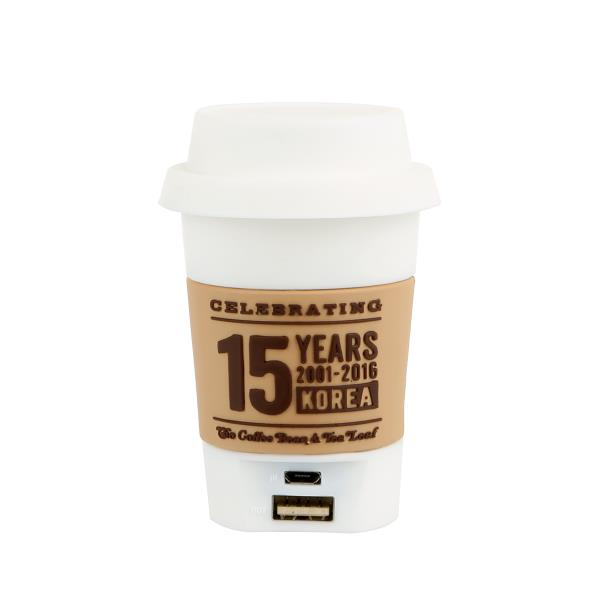 커피빈 15주년 보조배터리 상세이미지 2