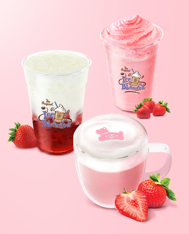 2018 Strawberry Drinks mobile