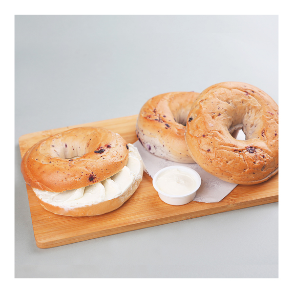 Rice Blueberry Bagel