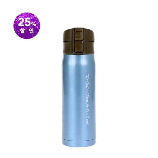 원터치슬림텀블러(블루/380ml)