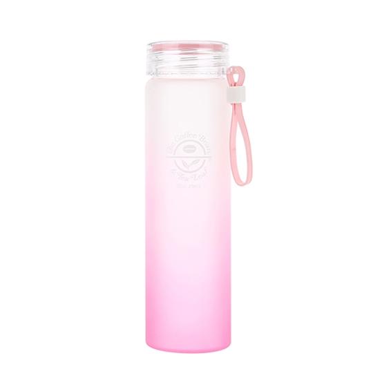글라스 워터 보틀(핑크)