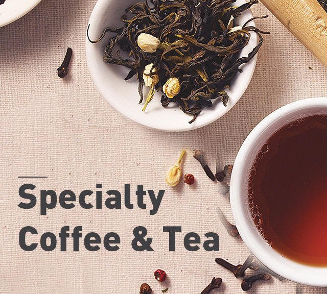 Speciality Coffee & Tea