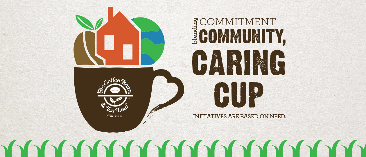 blending commitment community, caring cup initiatives are based on need