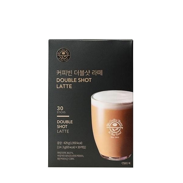 커피빈 더블샷 라떼 30T 상세이미지 1