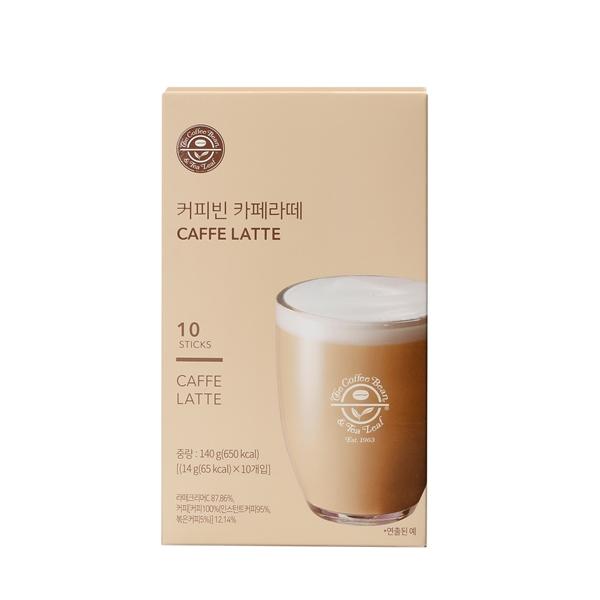 커피빈 카페 라떼 10T 상세이미지 1