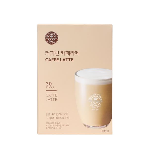 커피빈 카페 라떼 30T 상세이미지 1