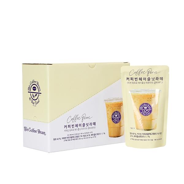 커피빈 헤이즐넛 라떼 파우치(10개입) 상세이미지 1