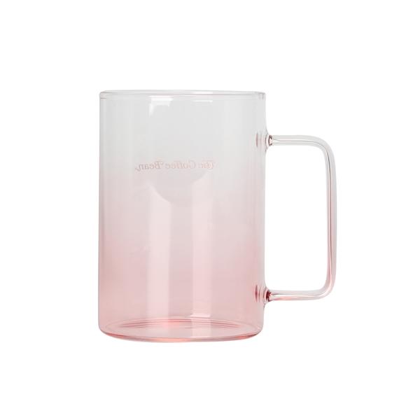 핑크 그라데이션 글라스머그 상세이미지 1