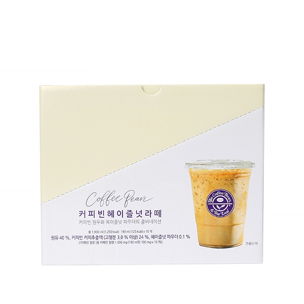 커피빈 헤이즐넛 라떼 파우치(10개입) 상세이미지 2