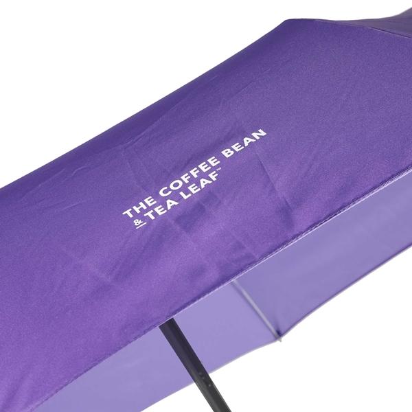커피빈 접이식 우산(클래식퍼플) 상세이미지 2