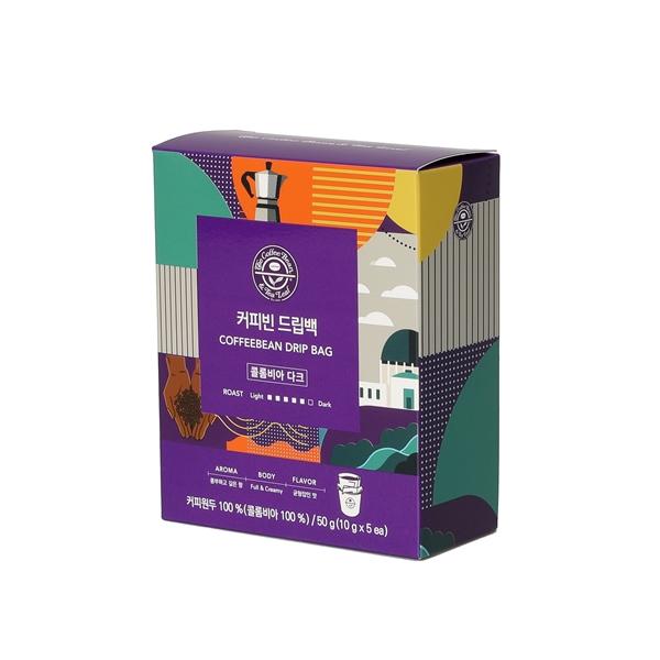 커피빈 드립백(콜롬비아 다크) 5개입 상세이미지 3