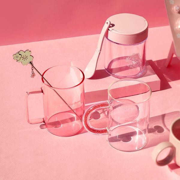 핑크 그라데이션 글라스머그 상세이미지 3