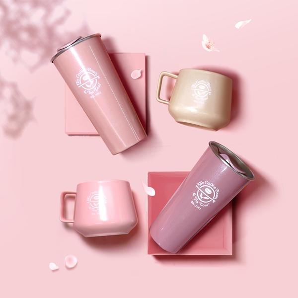 커피빈 단지머그(Pink) 상세이미지 4