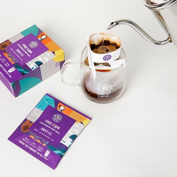 커피빈 드립백(콜롬비아 다크) 5개입 상세이미지 5