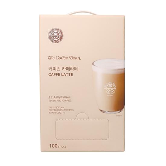 커피빈 카페 라떼 100T