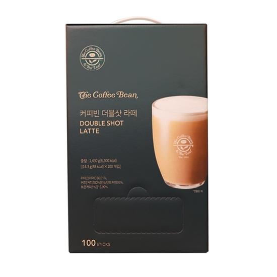 커피빈 더블샷 라떼 100T
