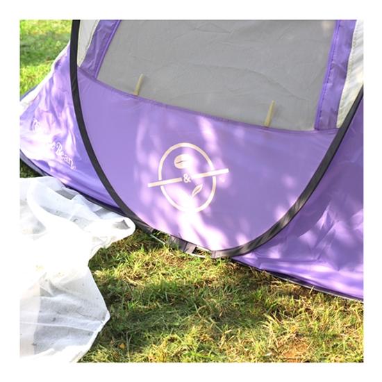[10/12 출고] 원터치 텐트 (소프트 퍼플 & 크림) /